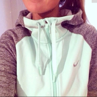 NIKE MINT GREEN GRAY SWEATSHIRT  on The Hunt