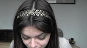 jewels,headband,leaves