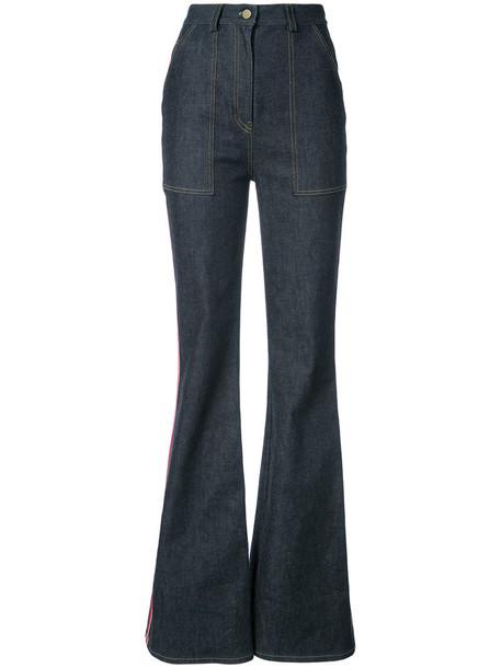 Dvf Diane Von Furstenberg jeans women cotton blue