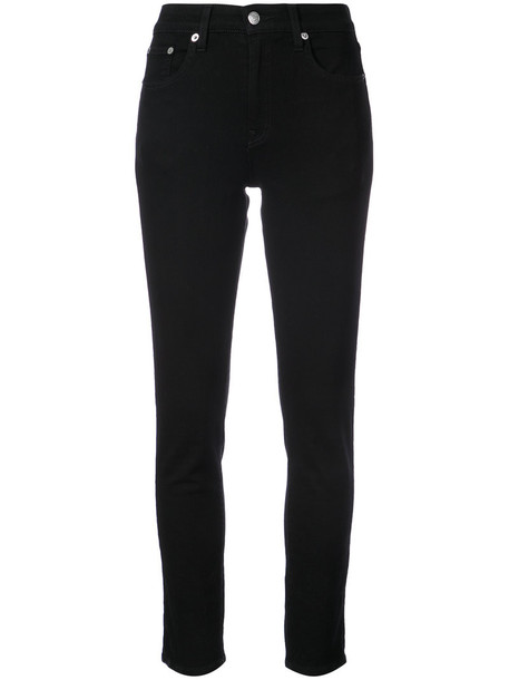 Brock Collection jeans skinny jeans high women classic spandex cotton black