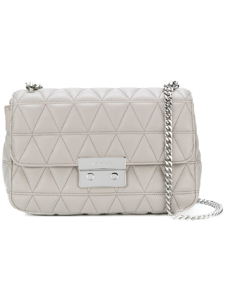 MICHAEL Michael Kors women quilted bag shoulder bag grey