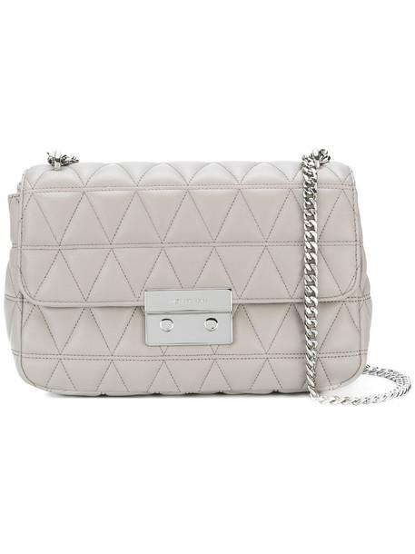 women quilted bag shoulder bag grey