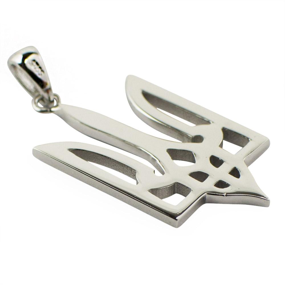 Traditional Ukrainian Tryzub Sterling Silver Pendant | eBay