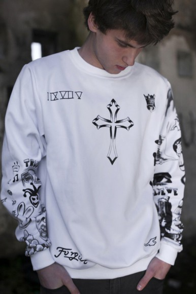 cross justin bieber tattoo fresh tops hipster tumblr outfit menswear