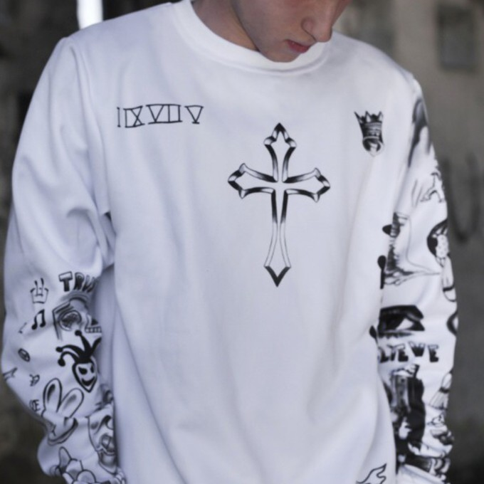 Justin bieber tattoo sweatshirt the for Justin bieber tattoo sweatshirt