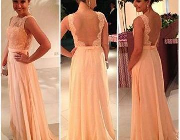 Floor length dress/prom dress/weddi..