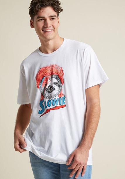 M6716 t-shirt shirt graphic tee cotton t-shirt t-shirt rock style white cotton top