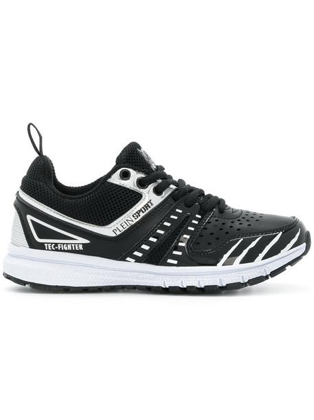 Plein Sport women sneakers black shoes