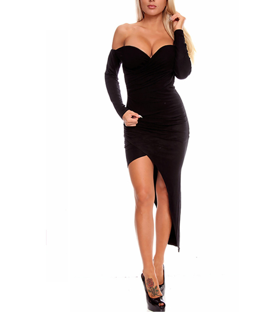 Avery Draped Dress | Emprada