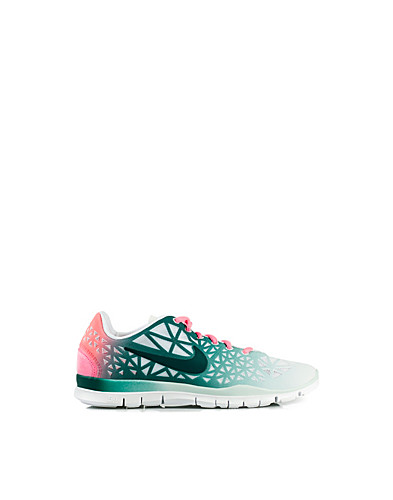 WMNS Nike Free Fit 3 Dye - Nike - White/green - Sports shoes - Sports fashion - NELLY.COM UK