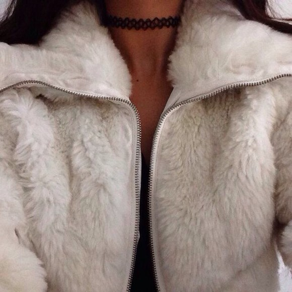 jacket fur fur coat fashion