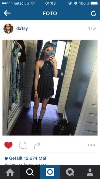 dress dx1sy urban outfitters ebay black skater dress white