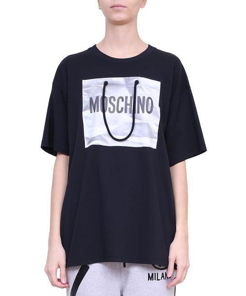 Moschino t-shirt shirt cotton t-shirt t-shirt oversized cotton top
