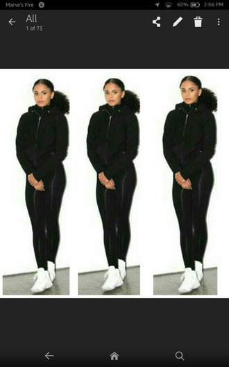 sweater all black everything turtleneck sweater ovoxo winter outfits black black sweater black jacket leggings black leggings turtleneck wedding clothes cold