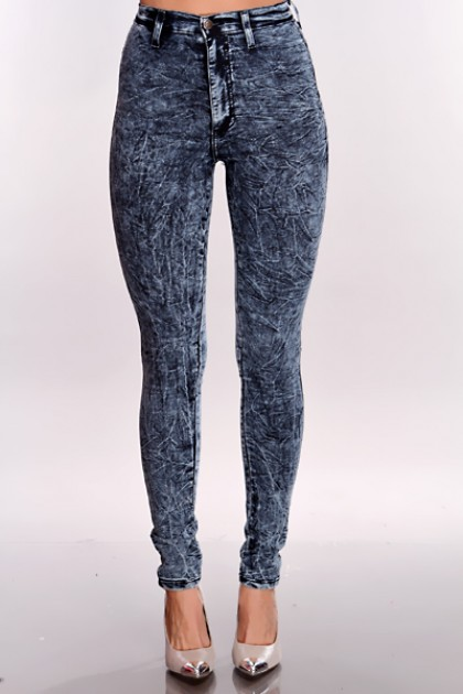 Pure Hype Women's Distressed Denim High Waisted Skinny Jeans Acid Wash Blue. by Pure Hype. $ - $ $ 26 $ 30 FREE Shipping on eligible orders. ModaXpressOnline Casual Womens High Waisted Tie Dye Print Acid Wash Skinny Stretchy Jeans K. by ModaXpressOnline. $ $ .