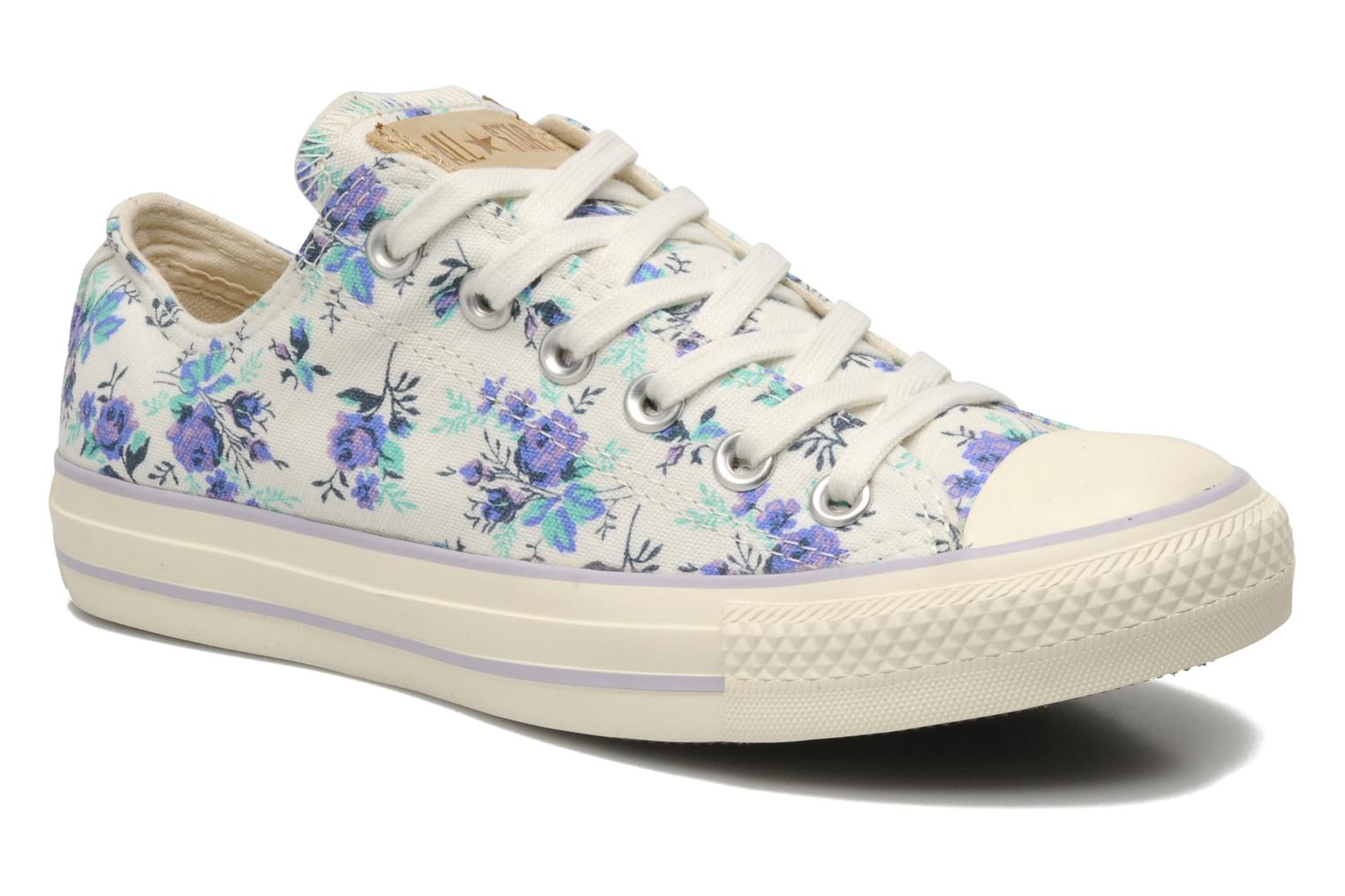 Chuck Taylor All Star Floral Print Ox W by Converse (Multicolor) | Sarenza UK | Your Trainers Chuck Taylor All Star Floral Print Ox W Converse delivered for Free
