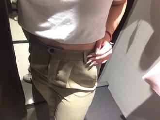 pants sabbia women brown zara zara style