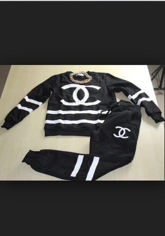 coco chanel pants coco chanel sweater