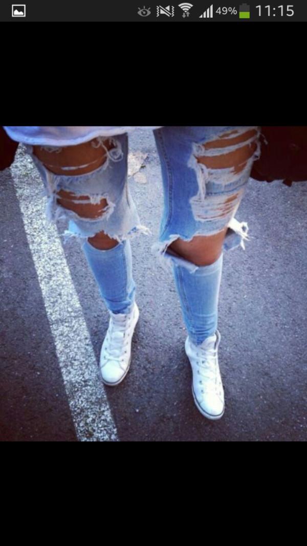 jeans zerissen swag hipster