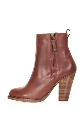 ANGEL Western Ankle Boots - Topshop