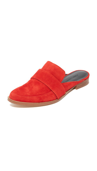 cherry mules shoes