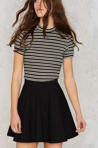 skirt skater skirt black skirt black skater skirt