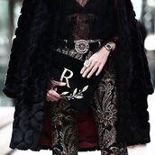 bag,tumblr,customized,embroidered,pouch,coat,black coat,fur coat,pants,printed pants,belt