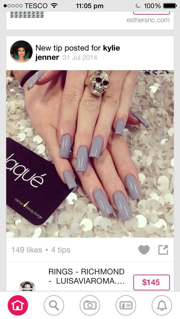 jewels kylie jenner nail polish