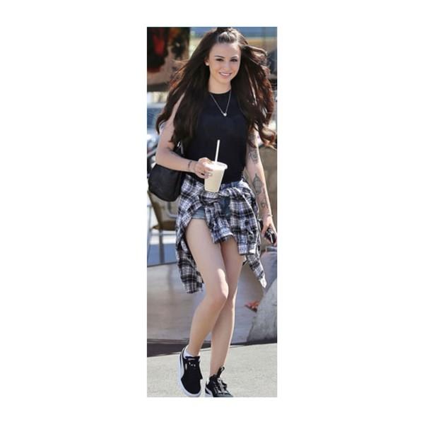 cher lloyd. cher lloyd hypster shirt flannel shirt flannel fashion style black