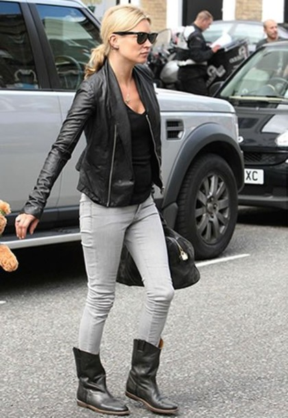 leather jacket perfecto black kate moss