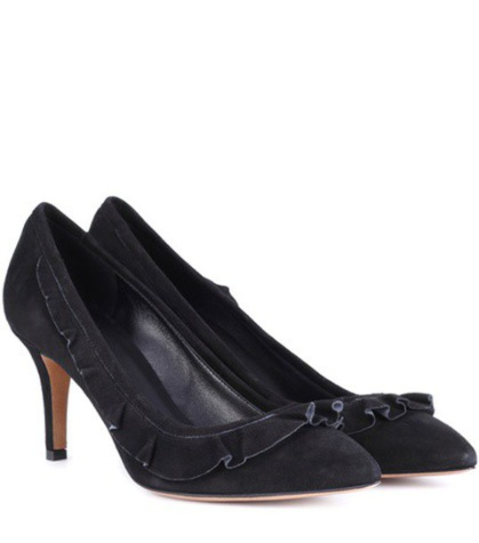 Isabel Marant suede pumps pumps suede black shoes