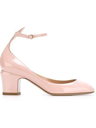tan pumps purple pink shoes