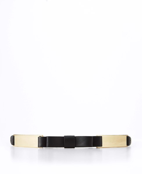 Leather Bow Belt | Ann Taylor