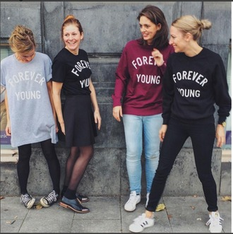 sweater forever young forever young cool cozy