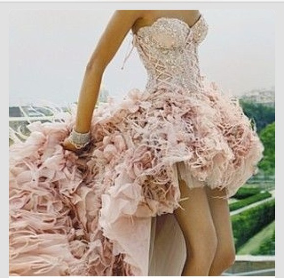 fashion dress wedding dress corset top lace dress pink dress corset dress