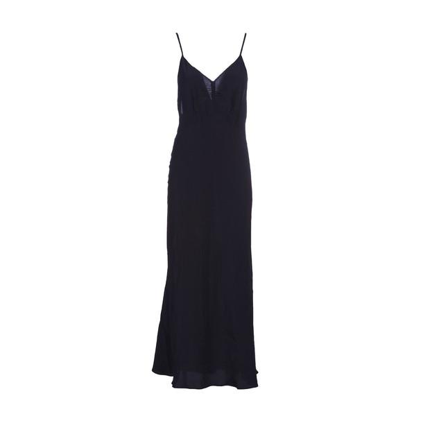Miu Miu dress slip dress back open black