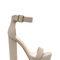 Square away chunky faux nubuck heels black wine grey - gojane.com