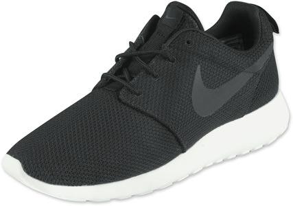 Nike Roshe Run Schuhe schwarz
