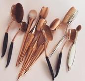 make-up,makeup brushes