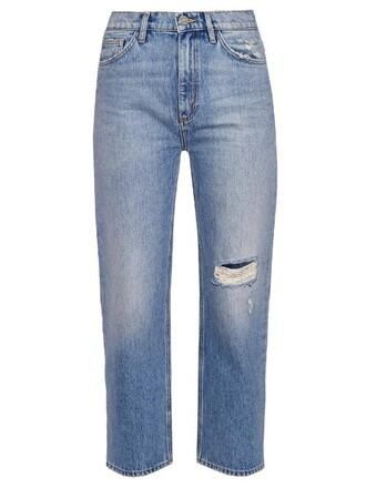 jeans cropped jeans cropped high boyfriend denim