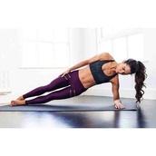 pants,athletic,fit,purple,gold zipper,yoga,yoga pants,tights,leggings,fitness,fitness pants,workout,healthy living,sports bra,sports leggings