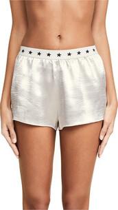 shorts,silver
