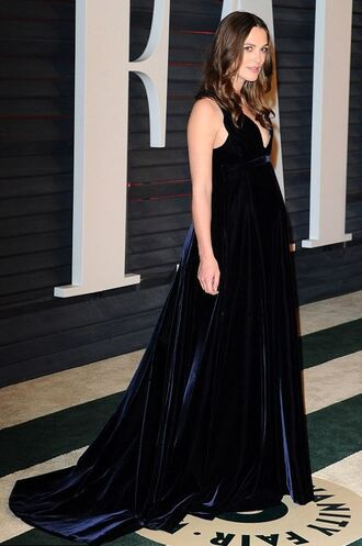 dress oscars 2015 gown keira knightley red carpet dress