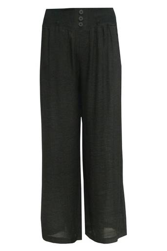 Blair Lightweight Palazzo Trousers - Pop Couture
