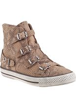 Ash Virginia Sneaker Sand Snake - Jildor Shoes, Since 1949