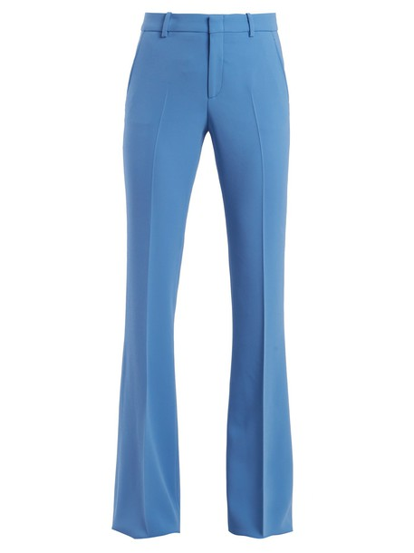 gucci high blue pants