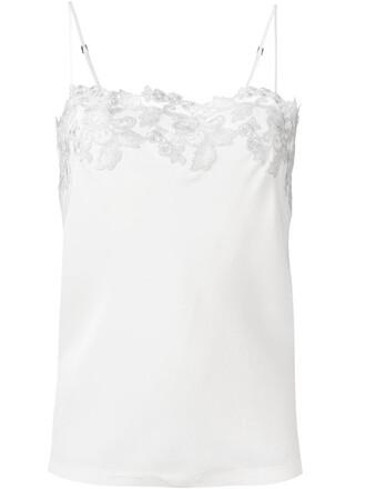 camisole white underwear