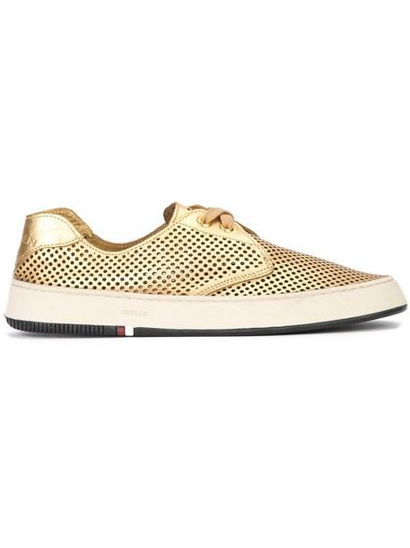 OSKLEN women sneakers leather grey shoes