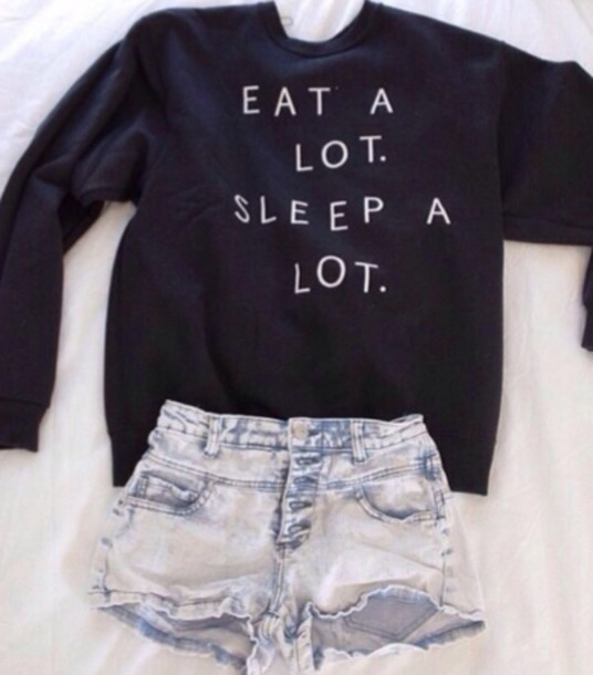 shirt eat sleep hipster black top cute sweater jumper shorts a lot eat sleep wear sleeping alott blouse black sweater eat a lot sleep a lot eat alot sleep alot writing quote on it winter sweater oversized sweater white sweatshirt navy crewneck lazy day sweater gray hoodie white letters and perfection High waisted shorts jumper black jumper sweater black and white sweatshirt denim funny eat sleep trendy cute sweaters jacket soft grunge pastel goth eat a lot sleep a lot crewneck warm help me find this shirt plz! eat a lot sleep a lot High waisted shorts t-shirt tumblr quote on it freshtops sweater weather teenagers teenagers cool girl style cool 90s style grunge print crewneck sweater hipsyer sweater weather eat a lot. sleep a lot. money or nah fall outfits fall outfits seasons me ong t-shirt denim shorts clothes back long sleeves food lazy day outfit pullover fashion dark navy/black small oversized tumblr sweater girl prom dress messy more wedding dress life wedding dress girly life's a beach lovely pepa cute things black and white tumblr outfit tumblr shirt sweter sweater lot tendy fashion style eat.sleep.read graphic tee quote on it pale peri.marie need this ! bag black top jeans earphones skirt black        teestarsusa black sweater print winter outfits sweater with saying dark blue short summer nice funny funny sweater