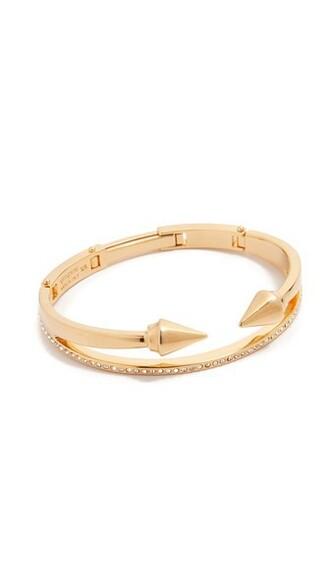 mini clear gold jewels